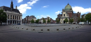 Charleroi town center.